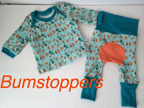 Bumstoppers BumSpot Pants 0-6 months 0-3 Reindeer