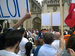 Demonstration for peace