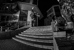 Timothy Atoyo - Ollie - Black and White