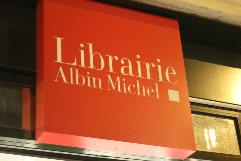 Librairie Albin Michel - boulevard Saint-Germain