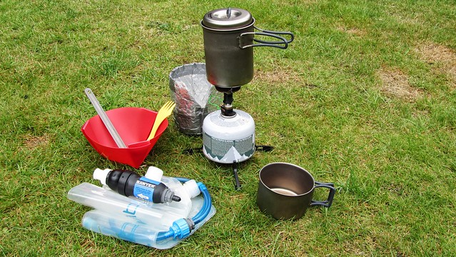 My Cooking kit for the bibbulmun track