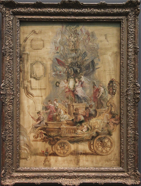 The triumphal Chariot of Kallo, 1638, Peter Paul Rubens