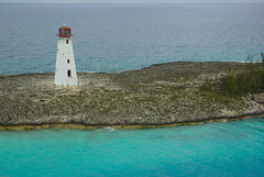 Lighthouse, Nassau, Bahamas from Disney Dream