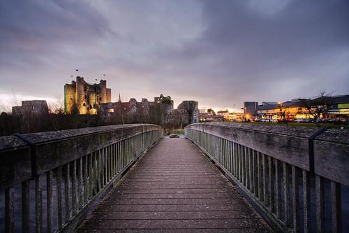 bridge ireland castle abbey ruins ruin trim hdr meath stmarysabbey augustinian riverboyne trimcastle backpackphotography