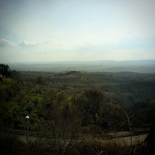 Panorama da Città della Pieve