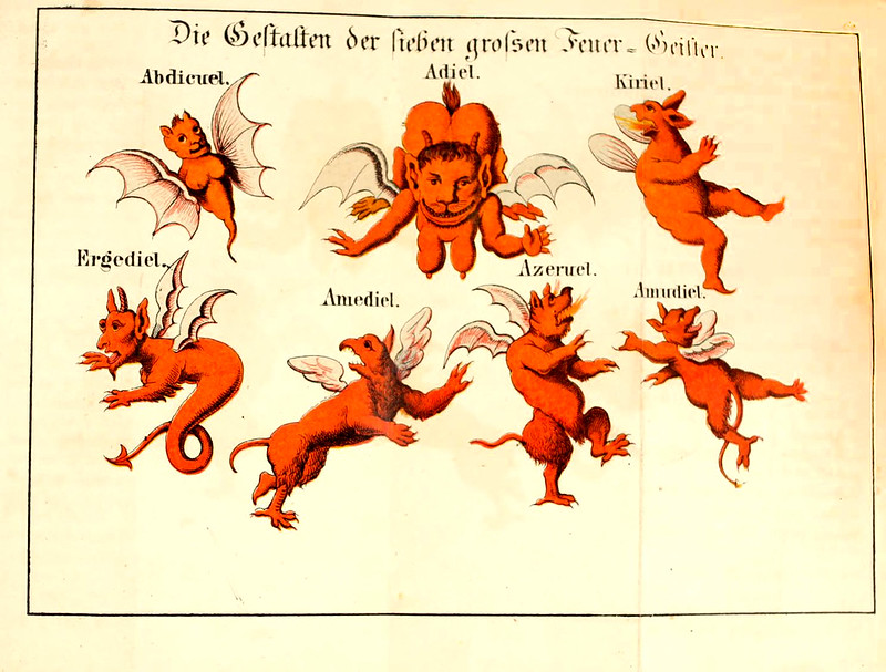 Johann Scheible - Doktor Johannes Faust's Magia naturalis et innaturalis, 1849 (9)