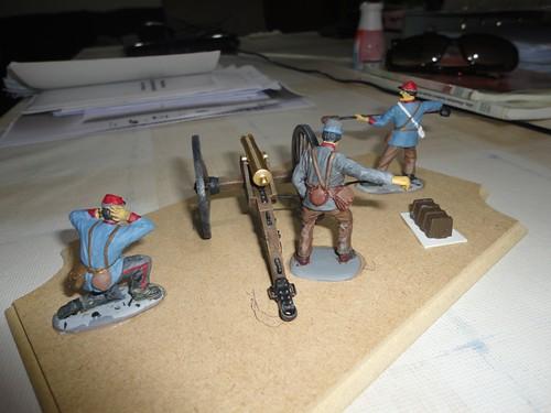 IMEX 1:32/54mm Confederate Cannon Set ref 781 16115541178_8e846509d9