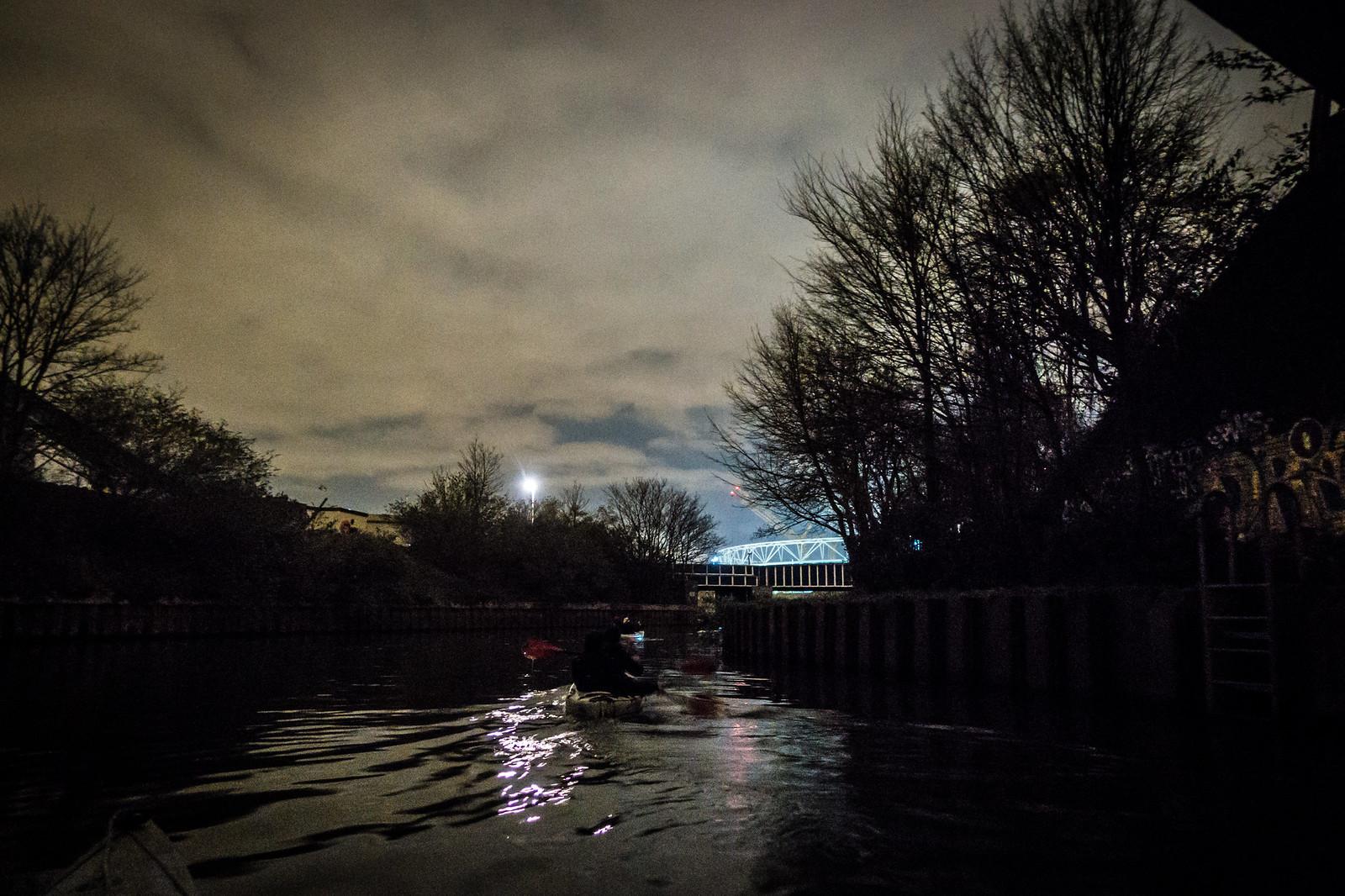Secret Adventures Canoe at Night-13