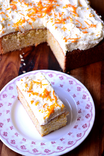 Orange Spice Traybake Recipe