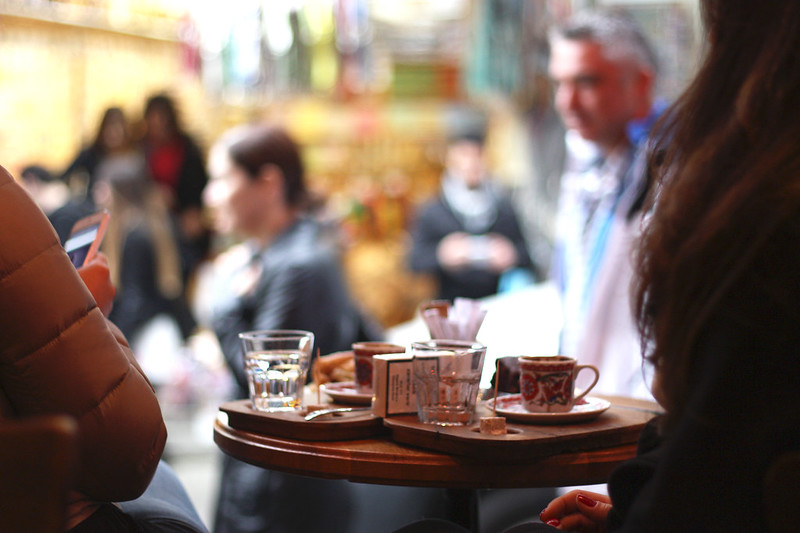 café in istanbul