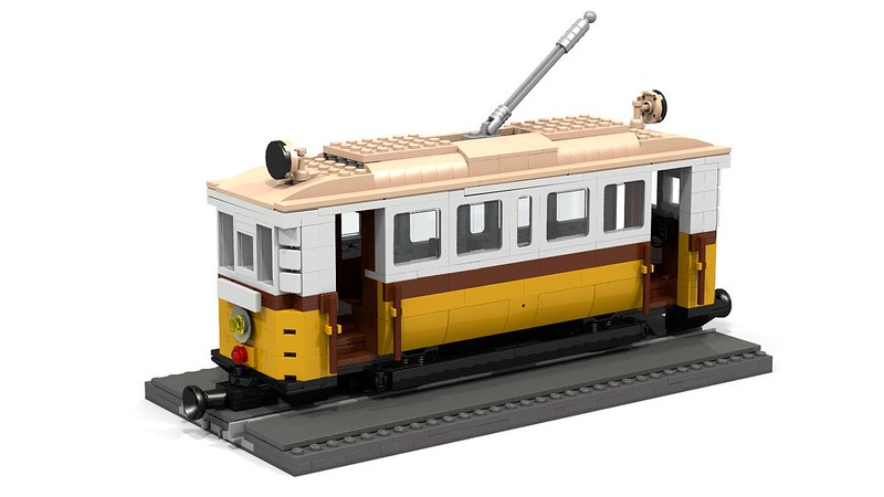 Old Tram Lego Town Eurobricks Forums