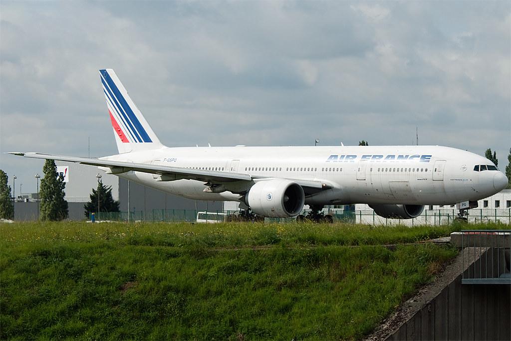 F-GSPQ - B77W - Air France