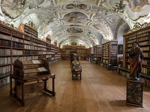 Library of Strahov Monastery, Praque