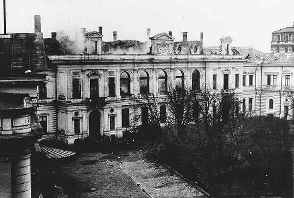 Incendiu Palatul Regal - 1926