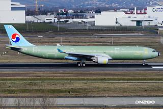 Korean Air A330-323 msn 1611