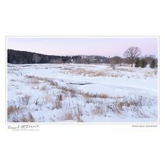 Winter Dawn, Grand River