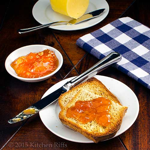 Homemade Whole Wheat Bread with jam