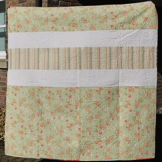 Avalon Scrappy Summer Quilt Back