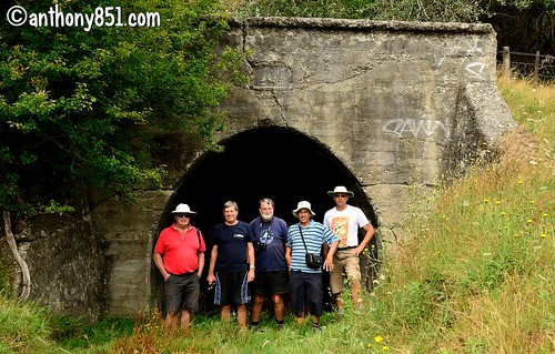 Rusty Railers Annual Group Shot In Front Of A Disused Tunnel