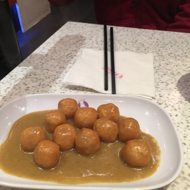 Curry Fish Balls - Cattle Cafe