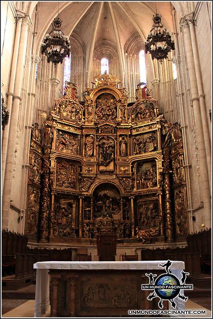 Altar Mayor de la Catedral de El Burgo de Osma (Soria)