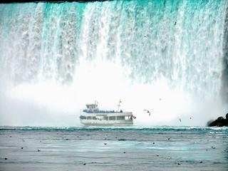 Maid of  the  Mist en Niagara Falls Canada