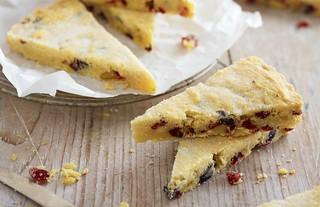 Cranberry and Cherry Shortbread Recipe