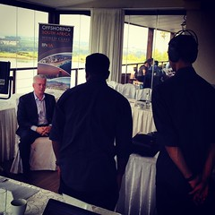 Interview featuring @loyndsview on camera #BPO2SA #southafrica #bpesa