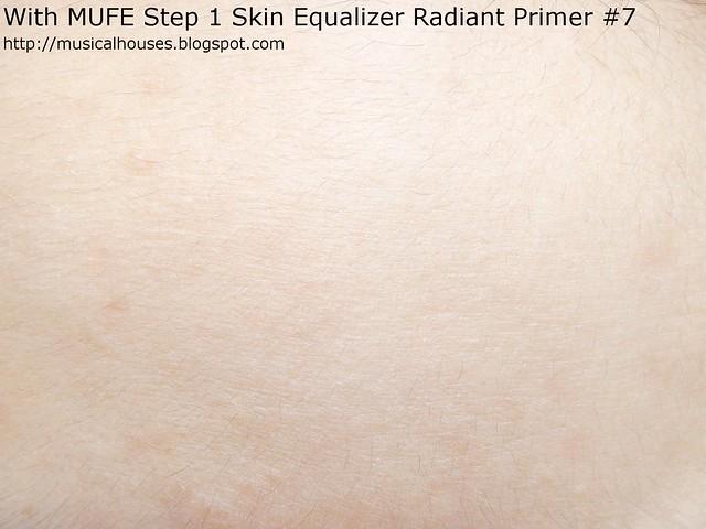 MUFE Step 1 Skin Radiant Primer Forehead
