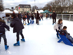 Synthetic ice rink in France