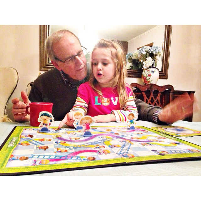 Birthday chutes and ladders @rcoacher