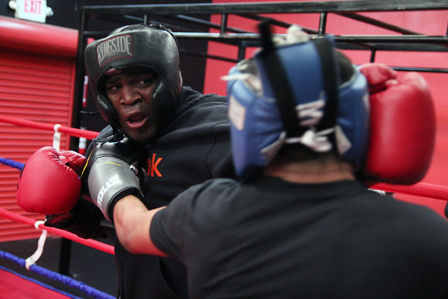 Dion savage sparring
