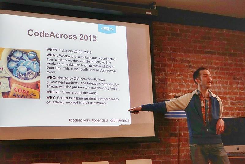 Code Across 2015 SF