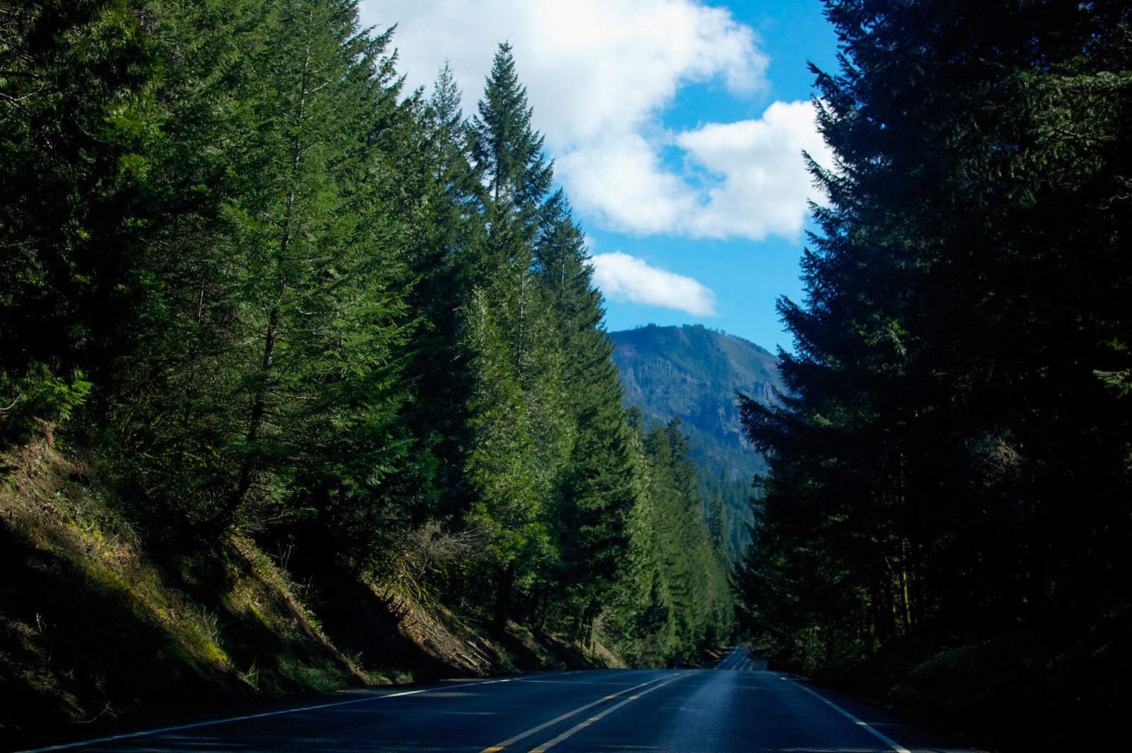 Lovely driving on Highway 58