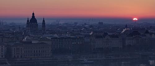 city morning sun church sunrise dawn hungary cityscape basilica budapest hdr város hajnal halászbástya szentistvánbazilika