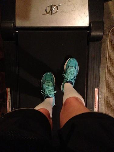 12 mile treadmill run
