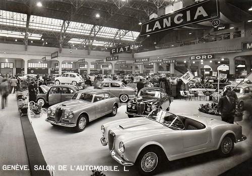 Salone Ginevra 1955