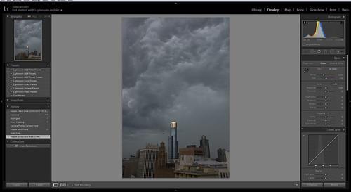 Storm Panorama - Stage 1