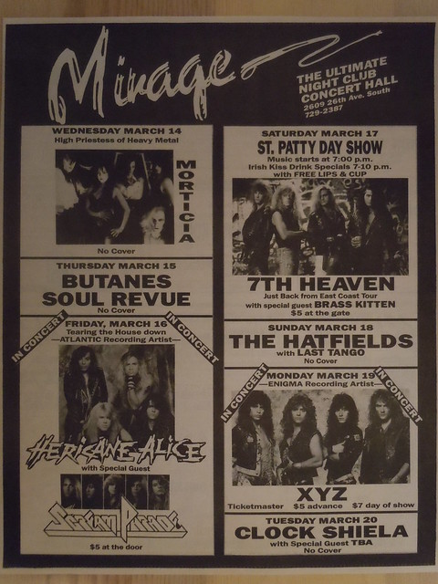 03/14/90 - 03/20/90 Mirage, Minneapolis, MN