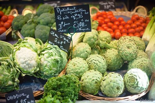 Vegetables. Rouen. France