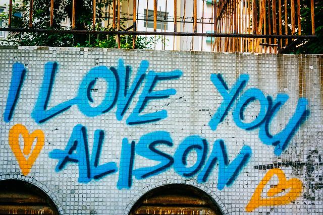 I Love You Alison - 07728