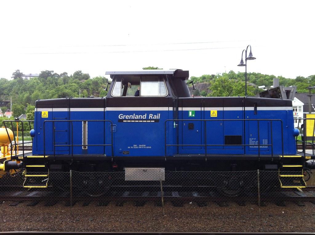 Diesel shunter Skd 226 real