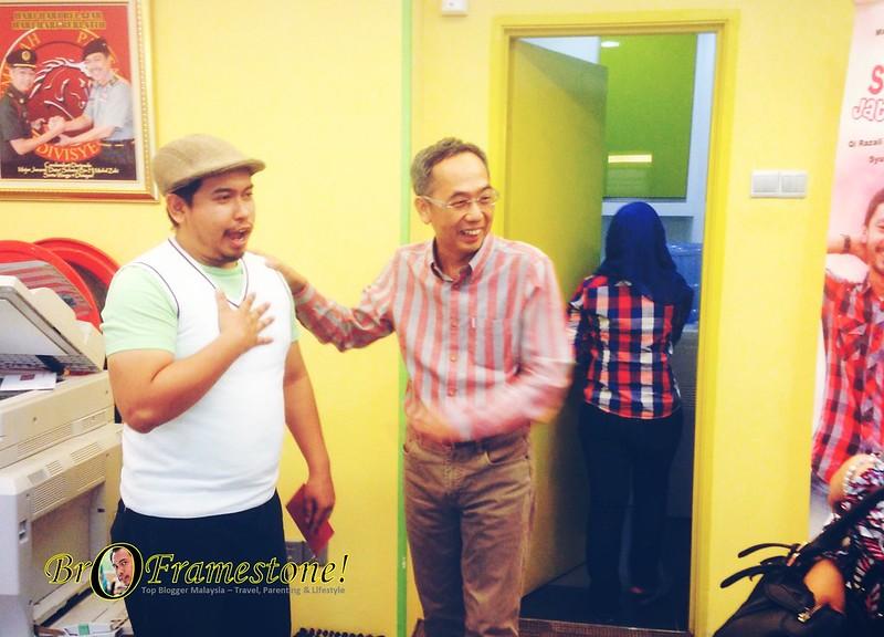 Berbual dengan Mejar David Teo - Dapat Angpow dari Mejar David Teo - Sepetang di Pejabat Urusan Metrowealth International Group (MiG)