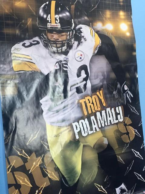 Polamalu poster