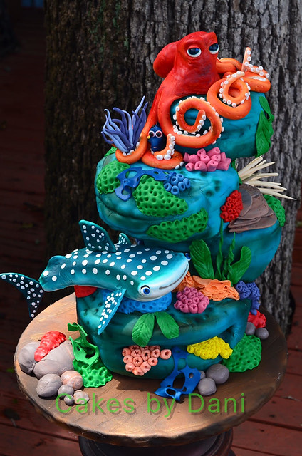 Finding Dory by Danette McClain of Cakes by Dani - Cake That