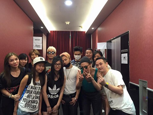 Big Bang - Made Tour 2015 - Singapore - Backstage - 18jul2015 - on.cc - 02