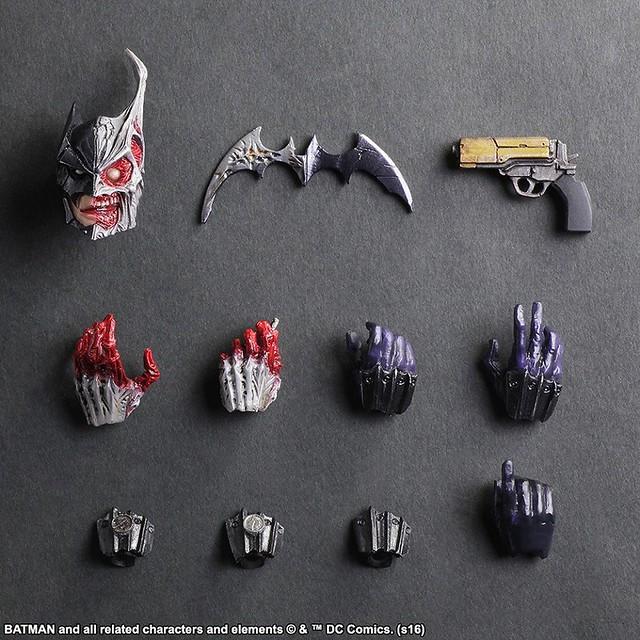 Play Arts 改 - 蝙蝠俠:惡棍畫廊 - 雙面人 Batman: Rogues Gallery – Two Face