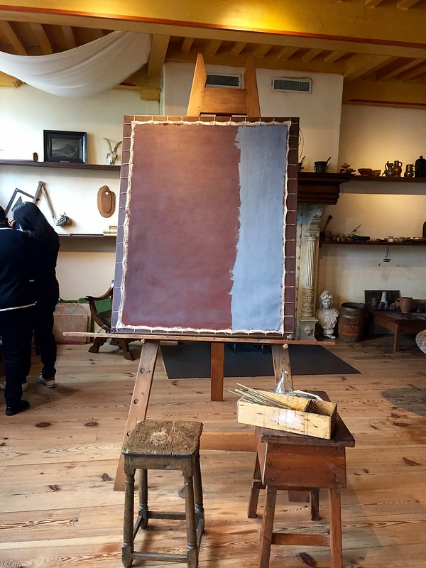Rembrandt's Large Studio
