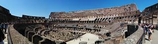 Image of Colosseum near Roma Capitale. colosseum rome roma italy italia history ruins