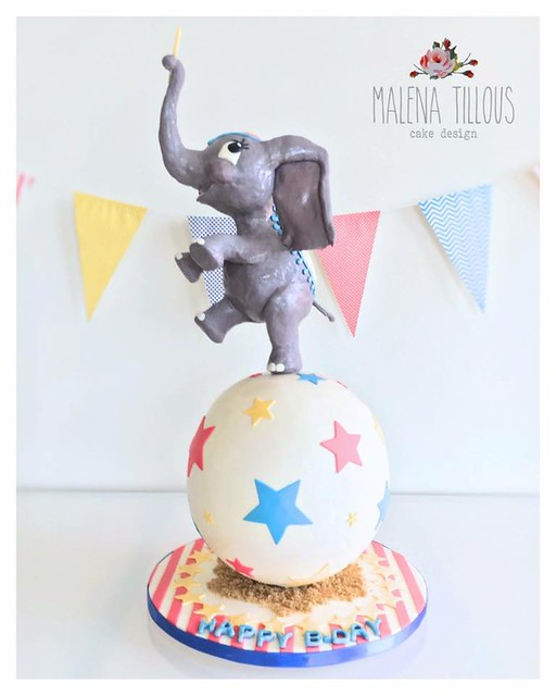 Cake by Malena Tillous of Malena Tillous, Cake Design